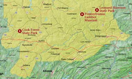 Lvaheritageparkmaplumbjpg - Grand canyon pa map