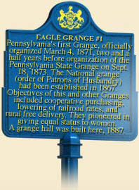 Header marker text body pennsylvania 39 s first grange - National grange of the patrons of husbandry ...