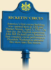 john bill ricketts a circus god -john bill ricketts, credited with bringing the first circus to america (philadelphia) in 1793 expanding from equestrian performances to tightrope, juggling and acrobatic acts his traveling .