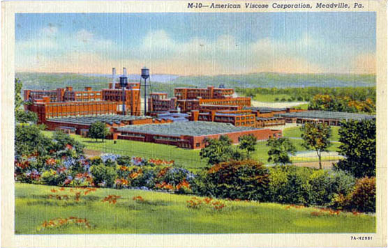Color postcard of the complex.
