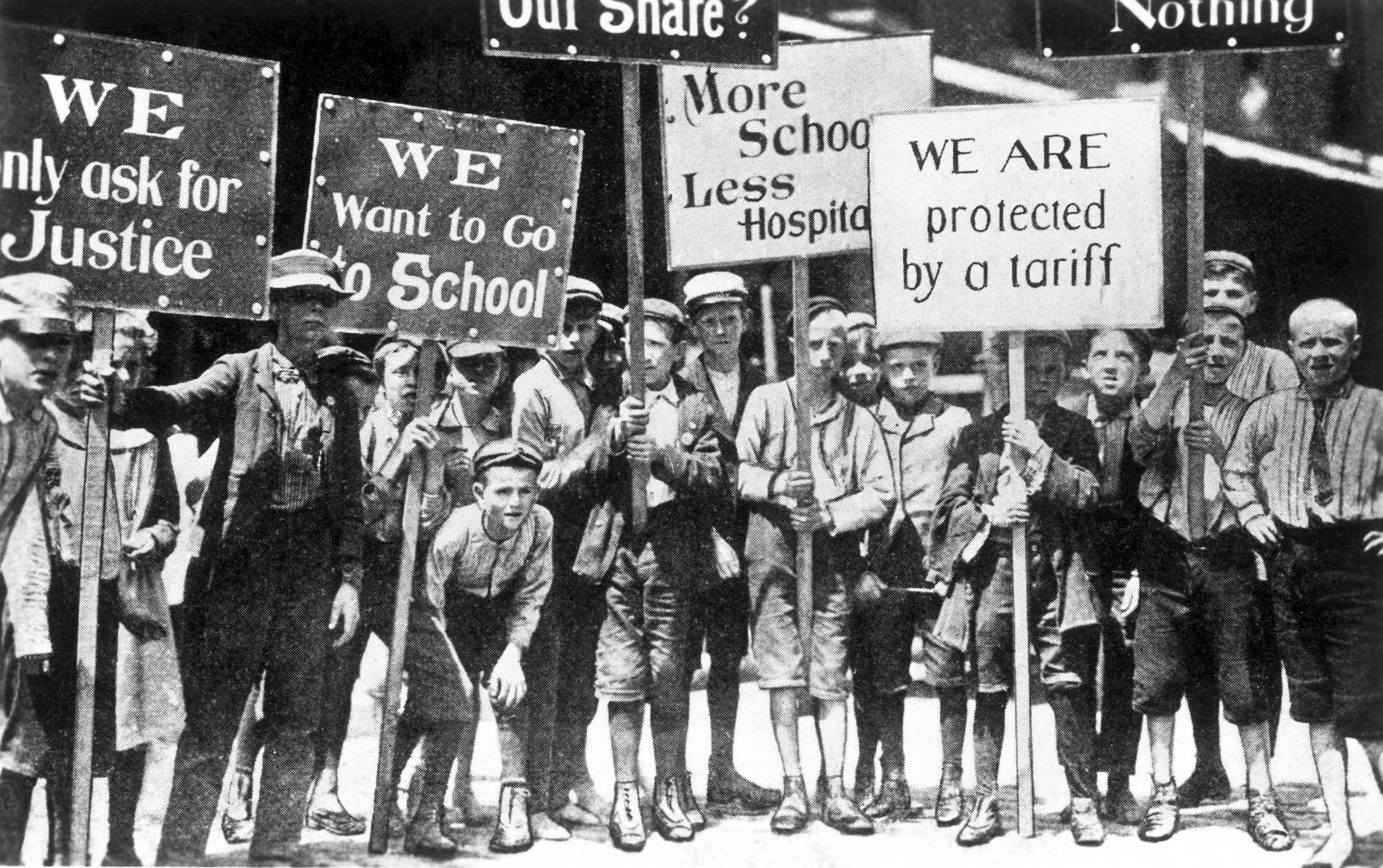 Image Gallery industrial revolution strike signs