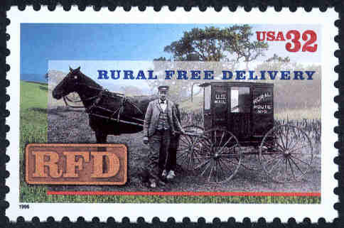 Rural Free Delivery Stamp