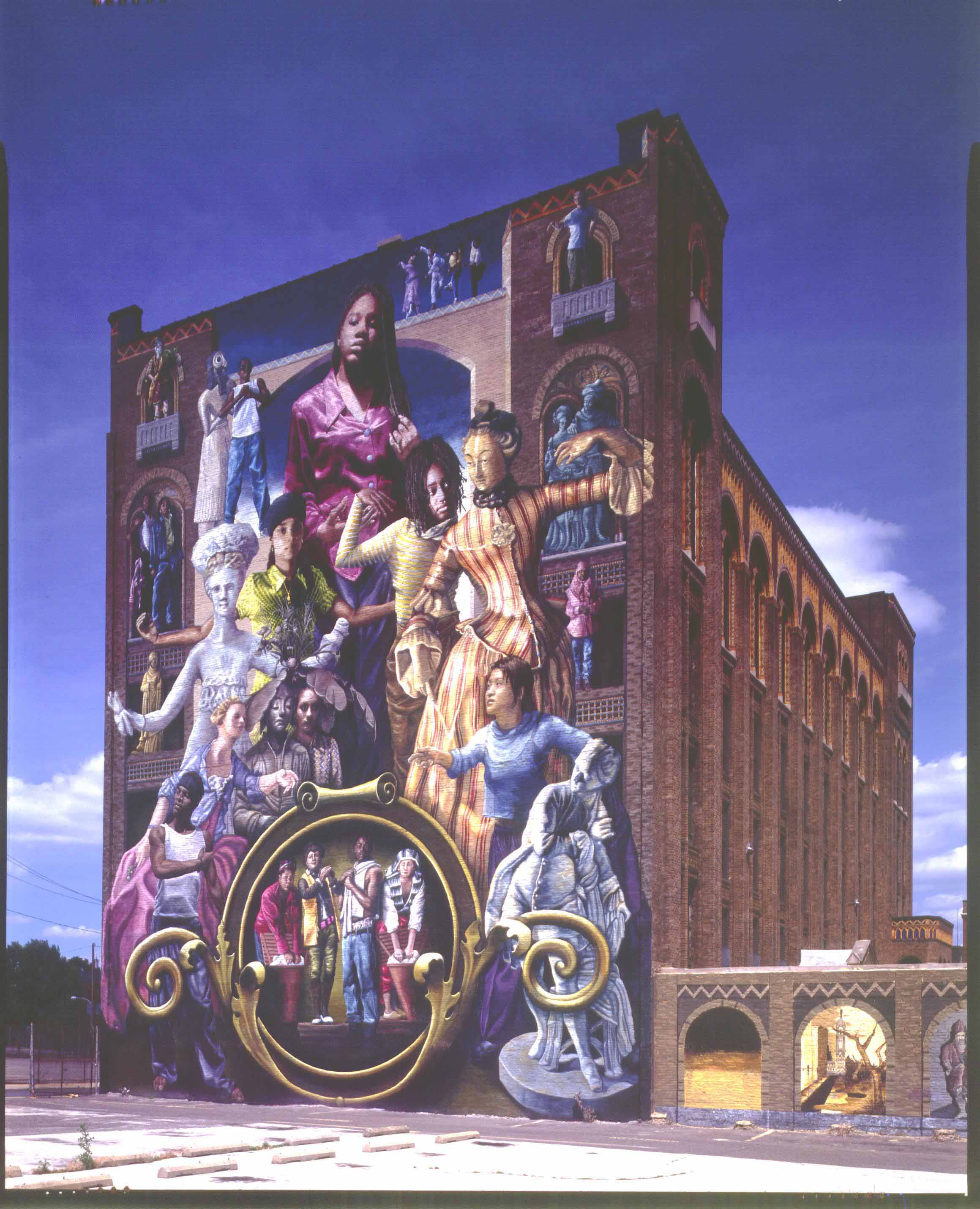 Image for Common threads mural