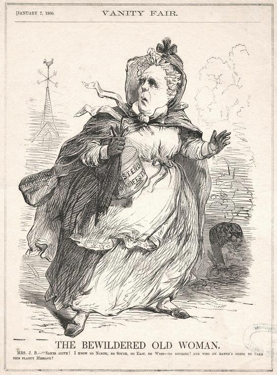 James Buchanan wearing a dress
