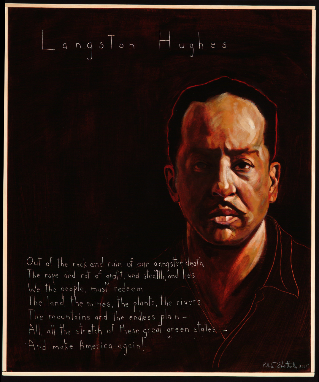 langston hughes trumpet player The trumpet player floating through a dream i hear a sound it draws me toward the light i feel i  the trumpet player [a poem]  langston hughes.
