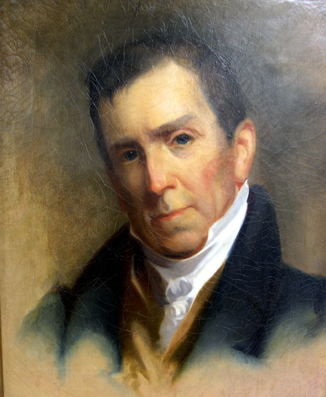 Head and shoulders painting