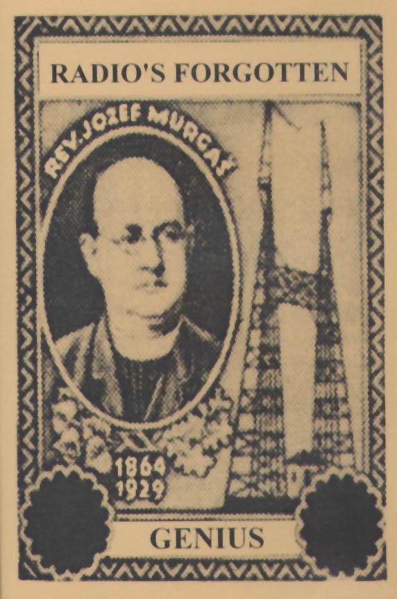 Joseph Murgas commemorative stamp