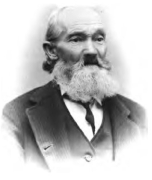 Head and shoulders, black and white portrait