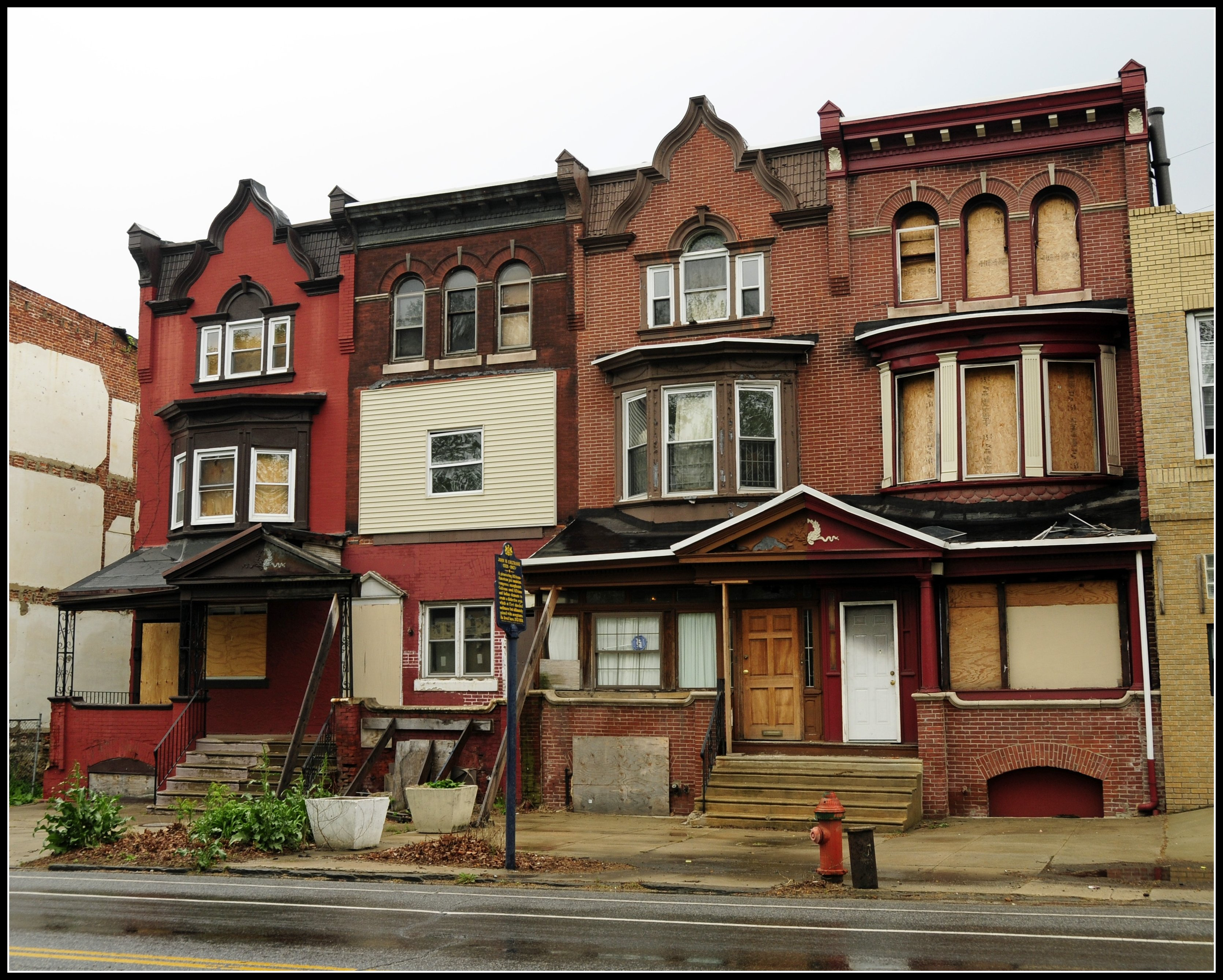 philadelphia style row houses | house list disign