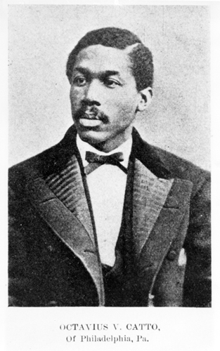 Formal portrait of Octavius V. Catto.