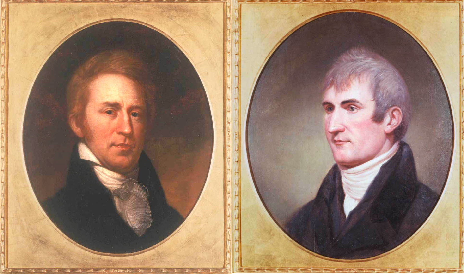 Lewis And Clark Painting Portrait Paintings of Lewis