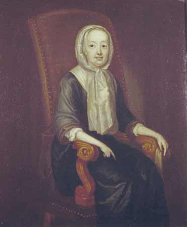 A portrait of Hannah Callowhill Penn, William Penn's second wife.