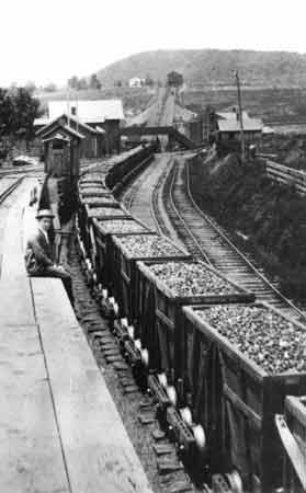 The Delaware & Hudson Gravity Railroad.