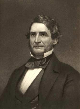 Asa Packer in 1860.
