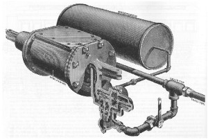 Drawing of air brake.
