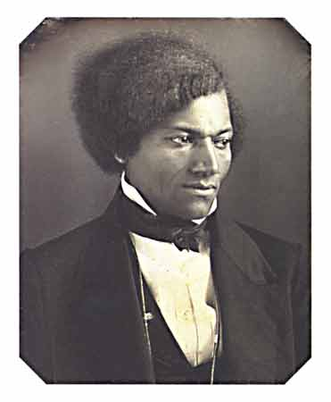 This 1848 daguerreotype is a rare image of Frederick Douglass as a young man.