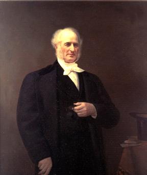 Portrait of Cornelius Vanderbilt.