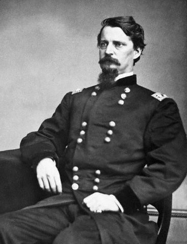 Black and white photograph of Winfield S. Hancock.