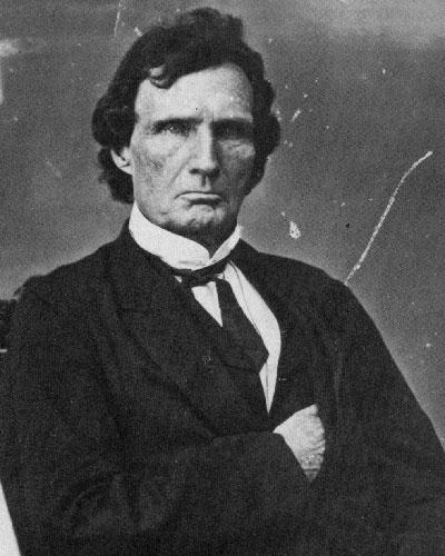 Black and white photograph of Thaddeus Stevens.