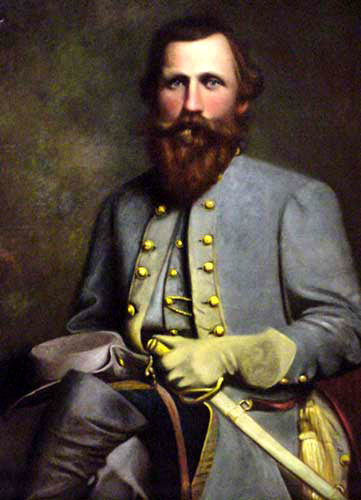 Portrait of Jeb Stuart.