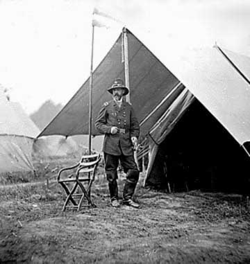 Black and white George Meade photo