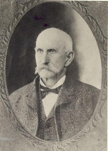 Confederate officer, Brig. Gen. John McCausland, post-war image.