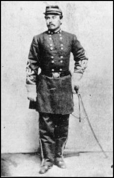 Full length black and white photograph of General George Steuart, in uniform.