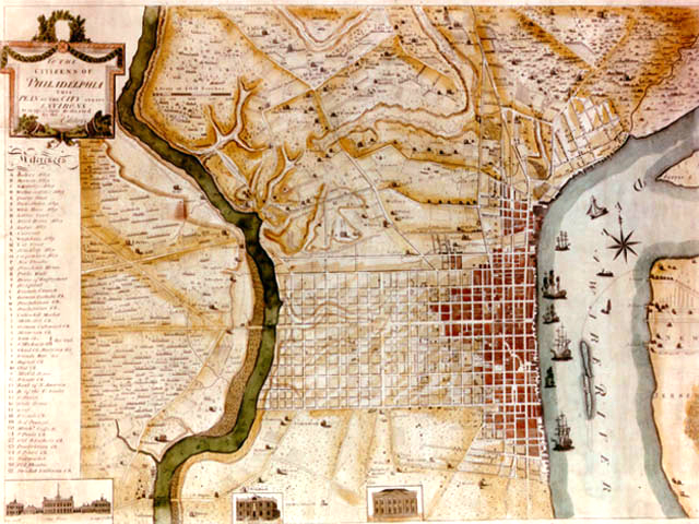 ExplorePAHistorycom Image - Historic philadelphia map