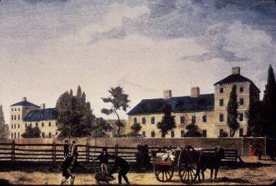 Alms House in Spruce Street, 1823.