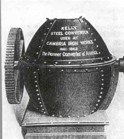 Image of the Kelly Converter, 1860s.