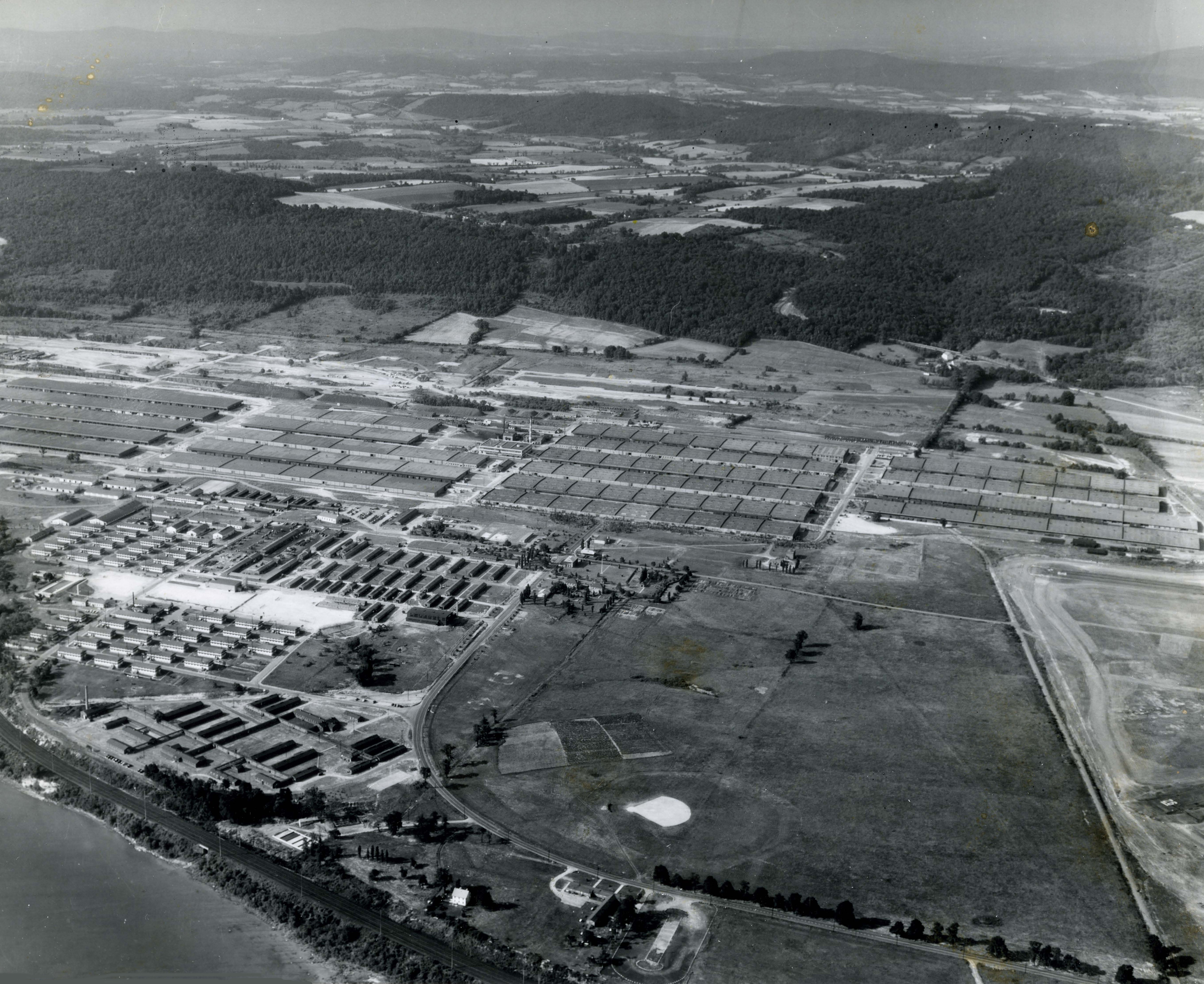 Aerial View Of The New Cumberland ASF Depot