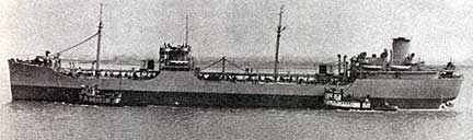 Image of the first T-2 tanker.