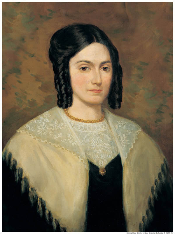 Oil on canvas portrait of a woman wearing a dark dress, with lace top, and a shawl around her shoulders.